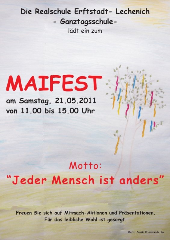 Maifest 2011 Plakat