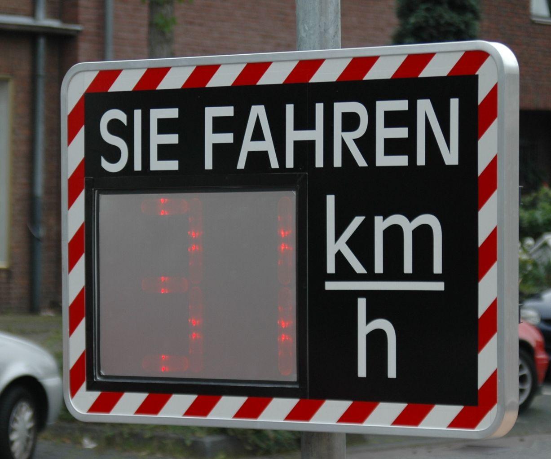 Verkehrsmessgerät